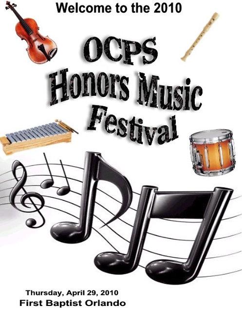 OCPS Music Festival - 4/2010
