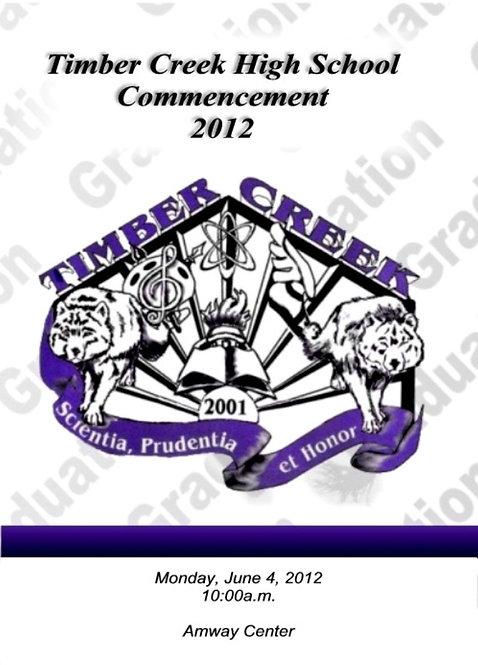 Timber Creek High School 2012 Graduation