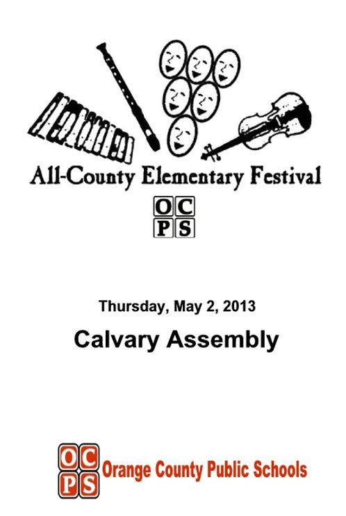 OCPS Music Festival - 5/2013