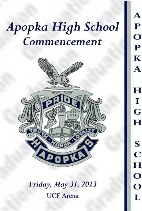 Apopka High School 2013 Graduation