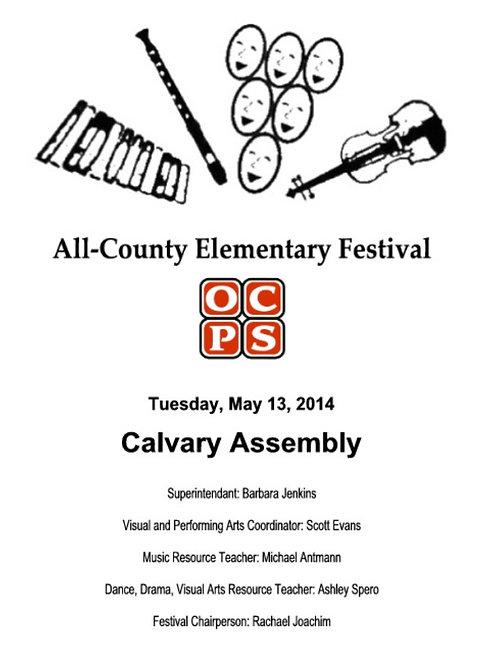OCPS Music Festival - 5/13/14