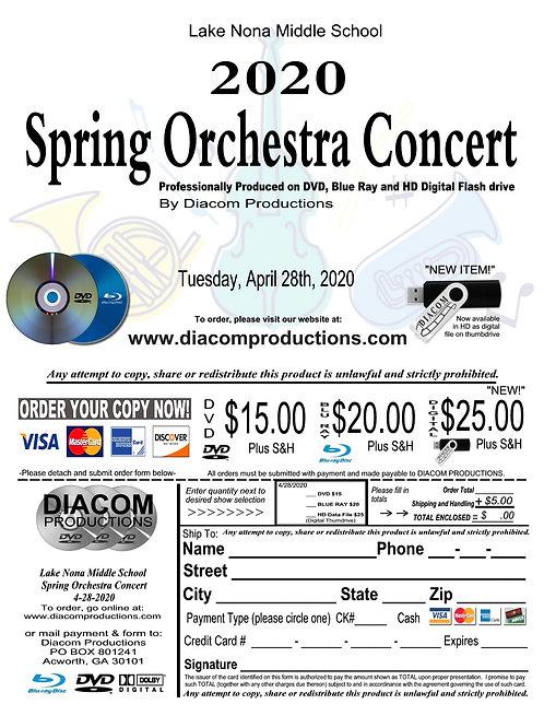 Lake Nona MS Orchestra - 04/28/20
