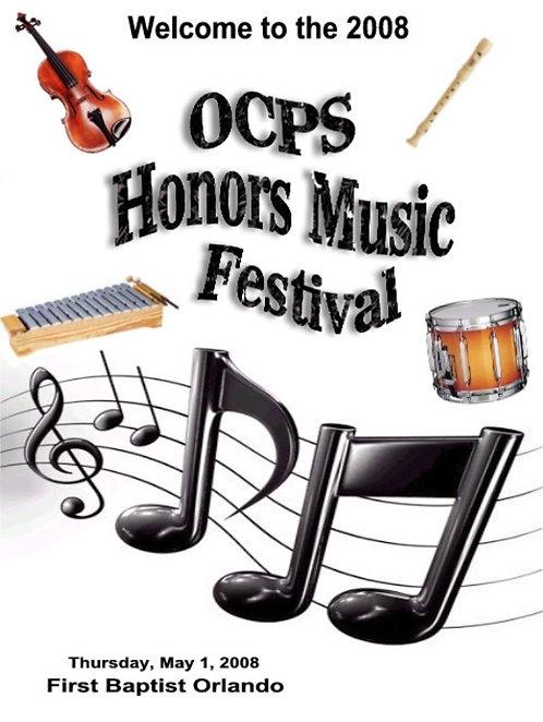OCPS Music Festival - 5/2008