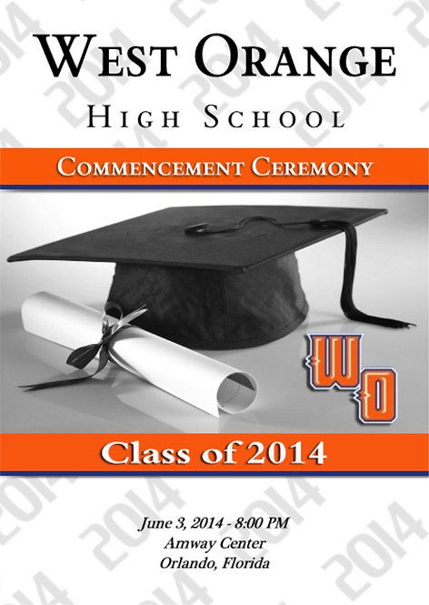 West Orange High School '14 Grad
