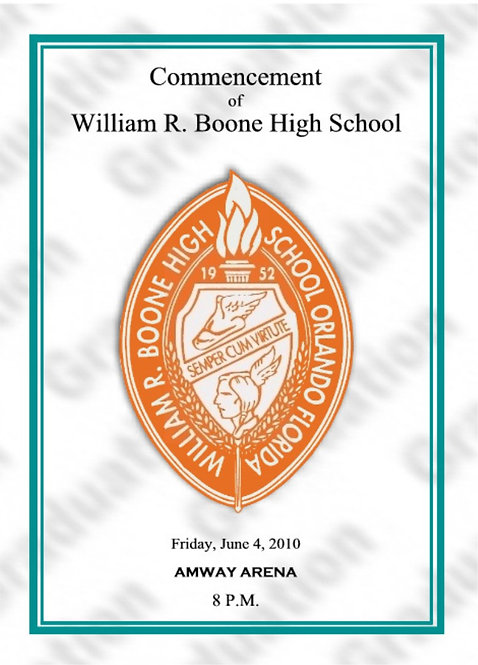 Boone High School 2010 Graduation