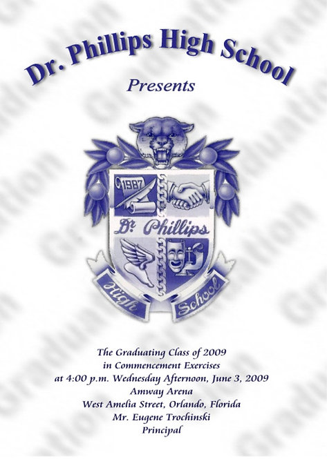 Dr. Phillips High School 2009 Graduation