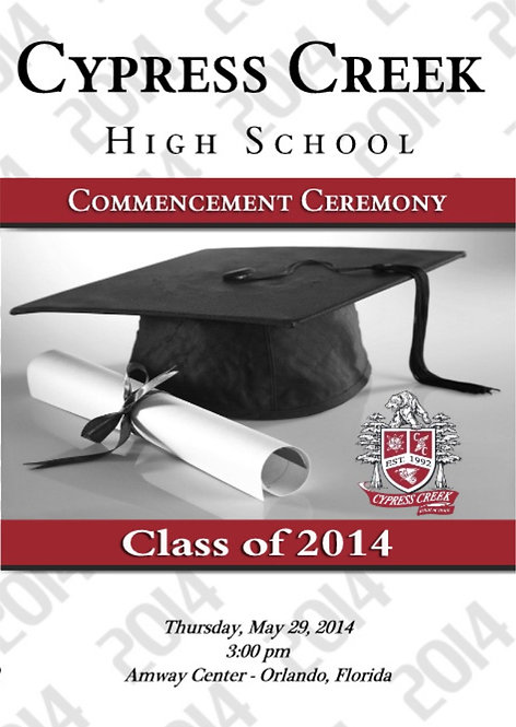 Cypress Creek High School 2014 Graduation