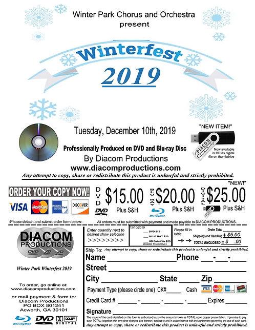 Winter Park HS Winterfest - 12/10/19