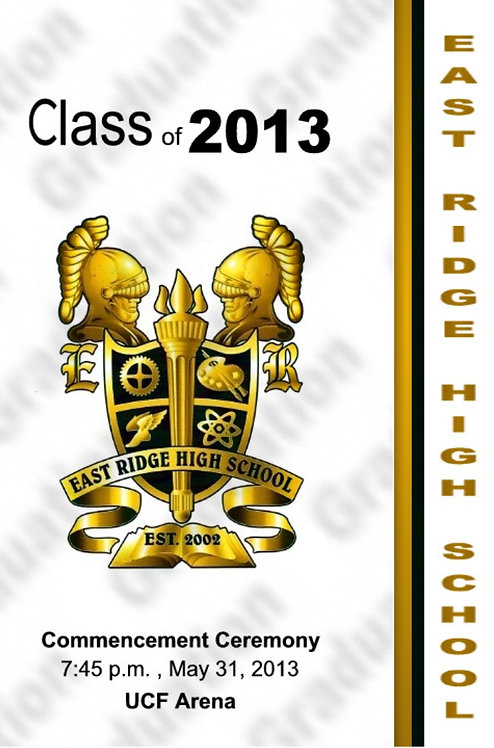 East Ridge High School 2013 Graduation