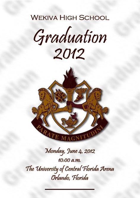 Wekiva High School 2012 Graduation