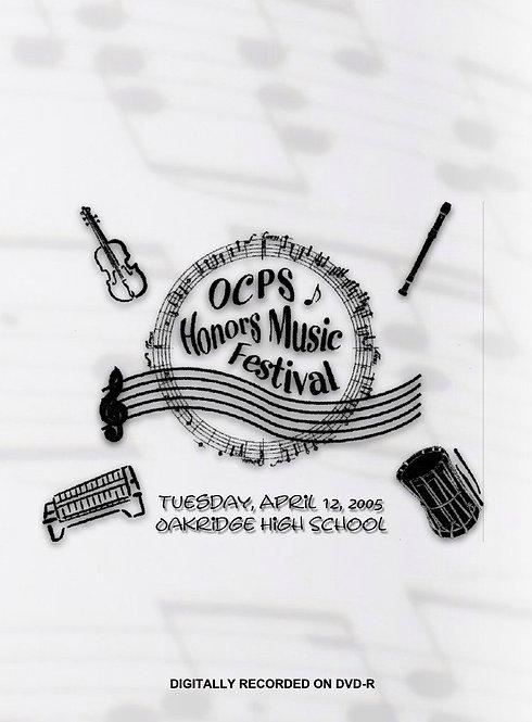 OCPS Music Festival - 4/2005