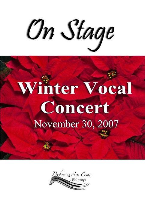PK Yonge Chorus -  11/2007