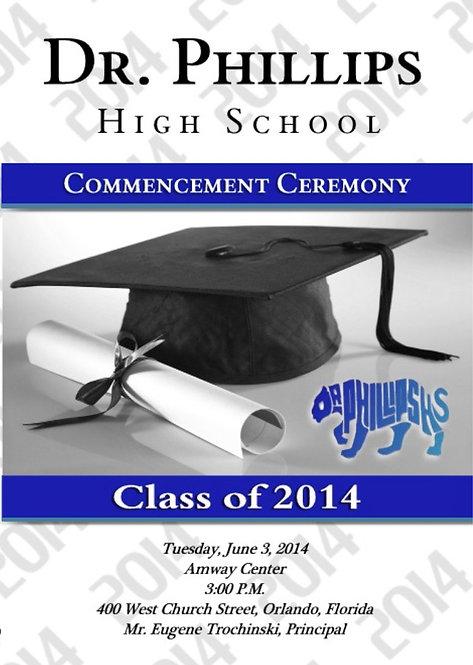 Dr. Phillips High School '14 Grad