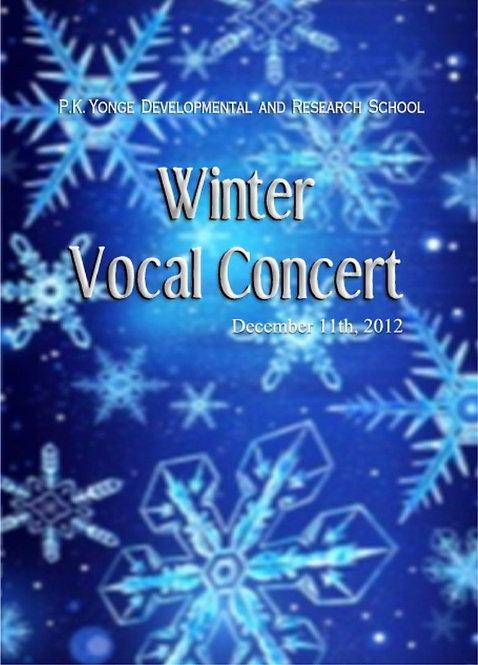 PK Yonge Chorus -  12/2012