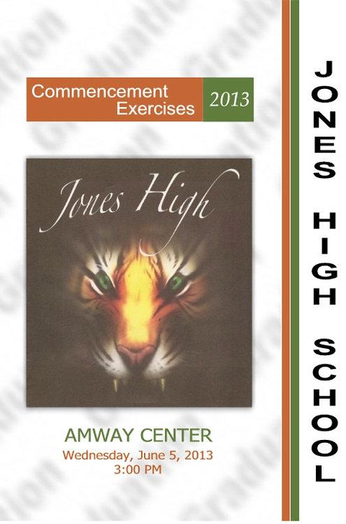 Jones High School 2013 Graduation