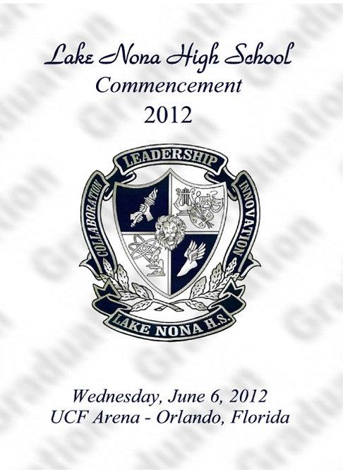Lake Nona High School '12 Grad