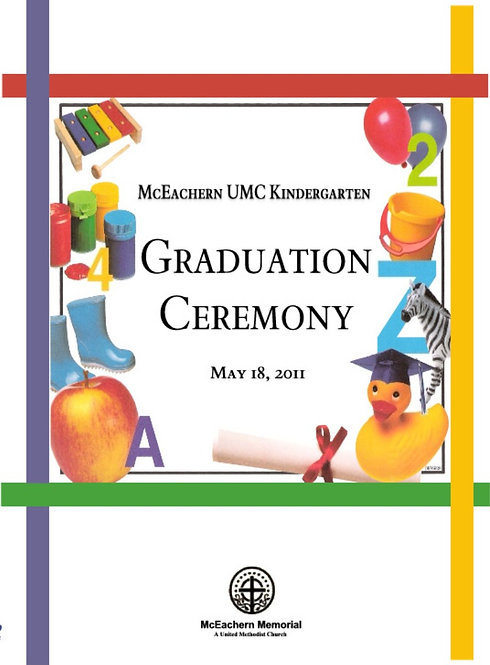 McEachern UMC Kindergarten Grad - 5/2011