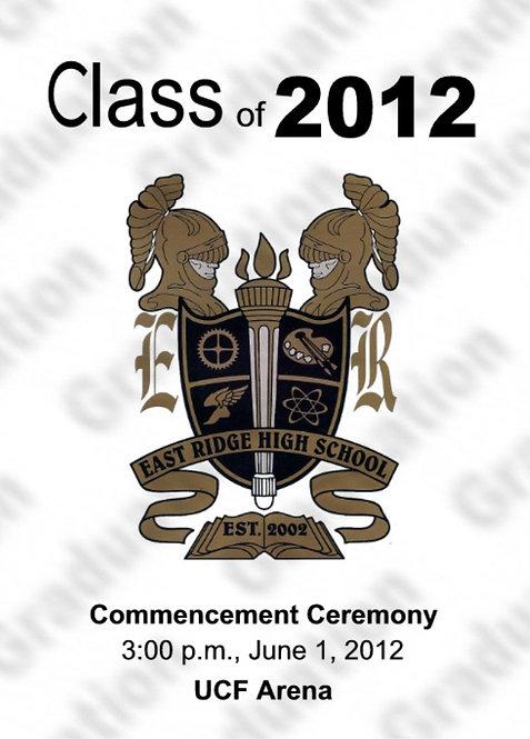 East Ridge High School 2012 Graduation