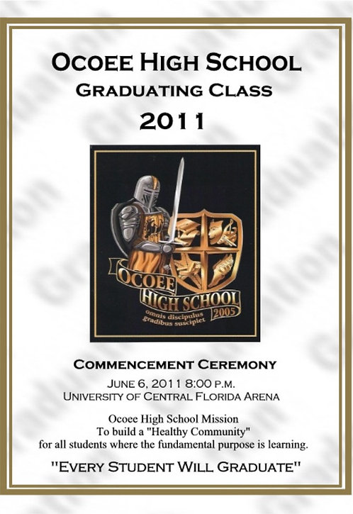 Ocoee High School 2011 Graduation