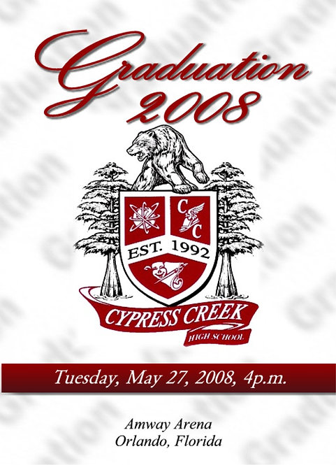 Cypress Creek High School 2008 Graduation