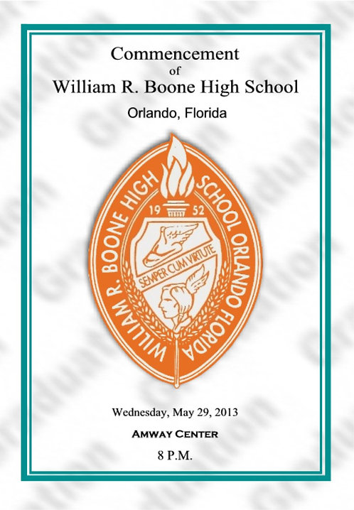 Boone High School 2013 Graduation