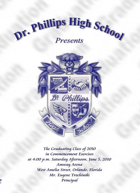 Dr. Phillips High School 2010 Graduation