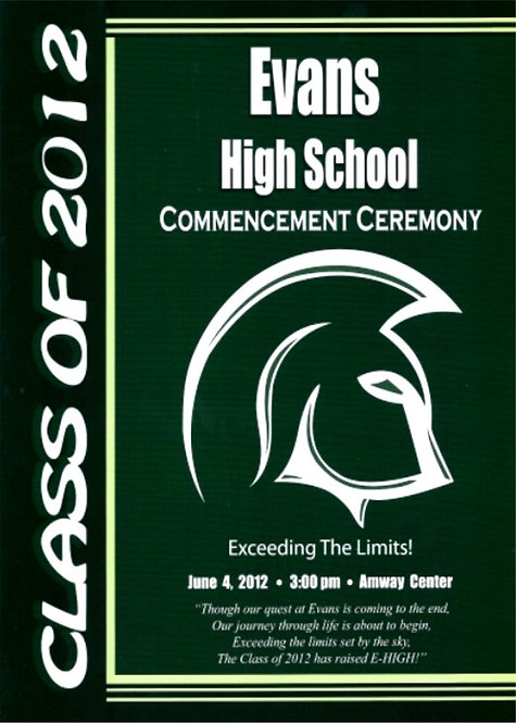 Evans High School 2012 Graduation