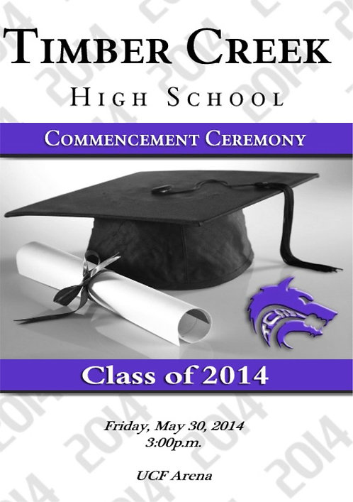 Timber Creek High School '14 Grad