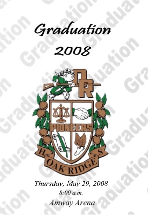 Oak Ridge High School 2008 Graduation