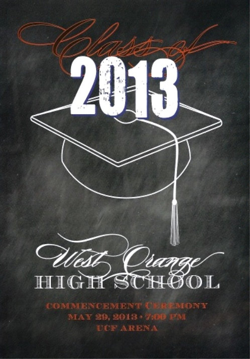 West Orange High School 2013 Graduation
