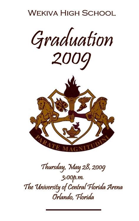 Wekiva High School 2009 Graduation