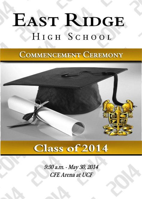 East Ridge High School '14 Grad