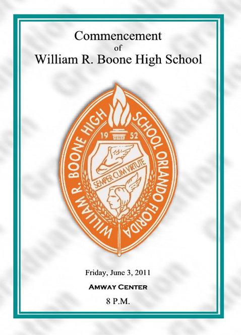 Boone High School 2011 Graduation