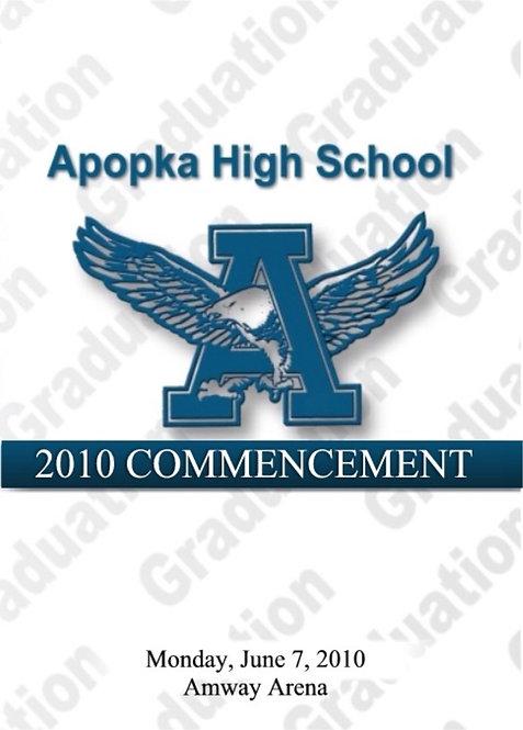Apopka High School 2010 Graduation
