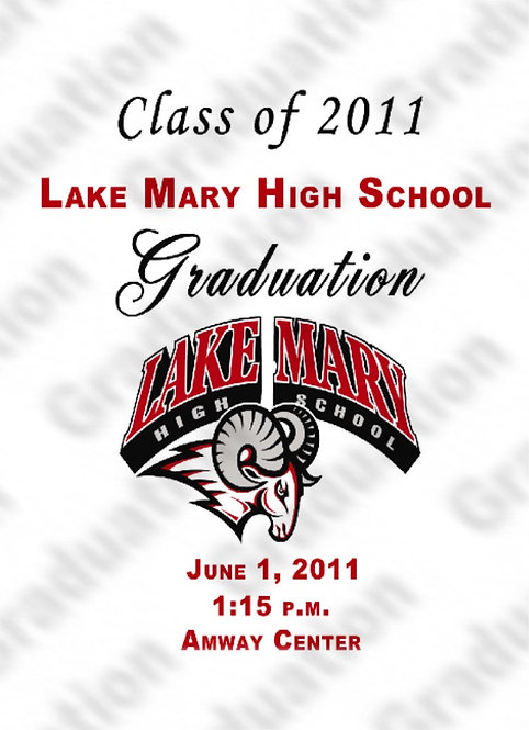 Lake Mary High School '11 Grad