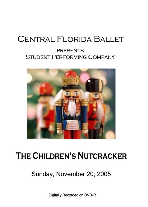 CFB Children's Nutcracker - 11/2005