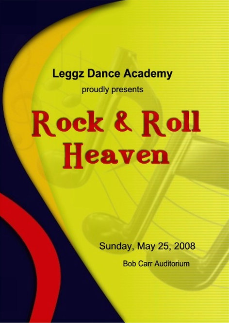 Leggz Dance -  5/2008