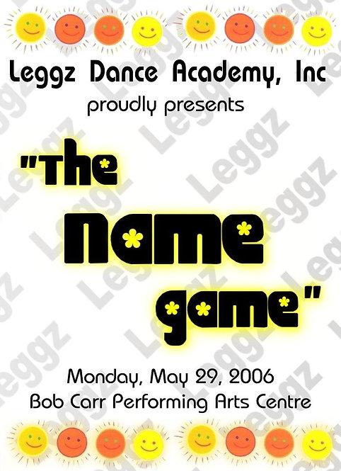 Leggz Dance -  5/2006