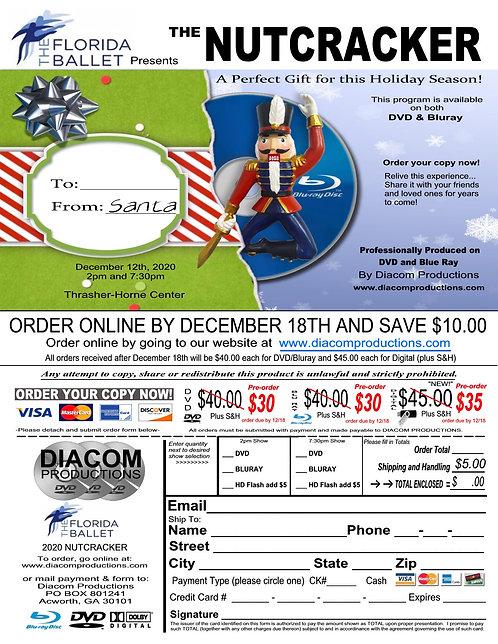 Florida Ballet - The Nutcracker - 12/12/2020