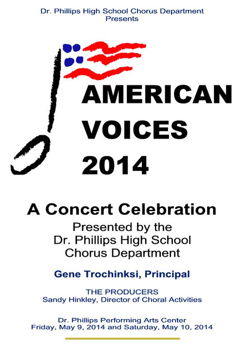 Dr Phillips High School Chorus - 5/2014