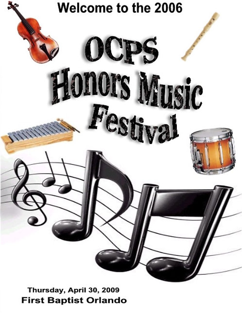 OCPS Music Festival - 5/2006
