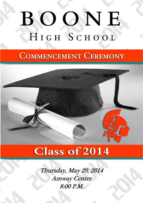 Boone High School 2014 Graduation