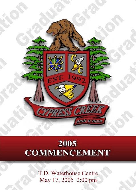 Cypress Creek High School 2005 Graduation