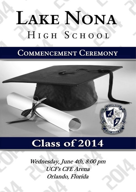 Lake Nona High School '14 Grad