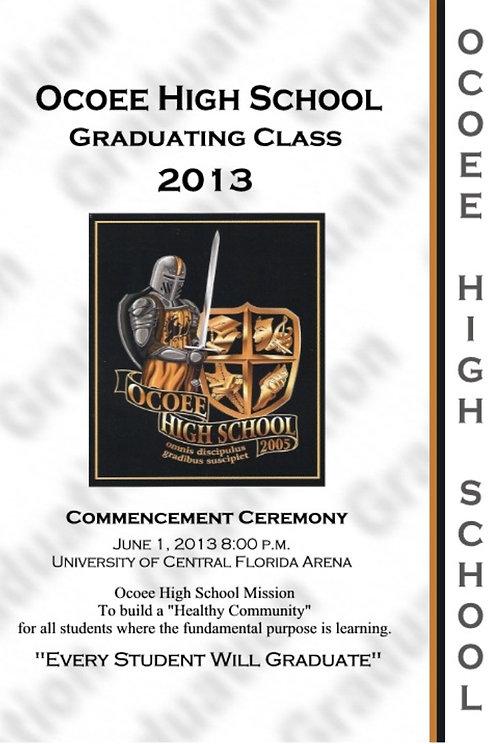 Ocoee High School 2013 Graduation