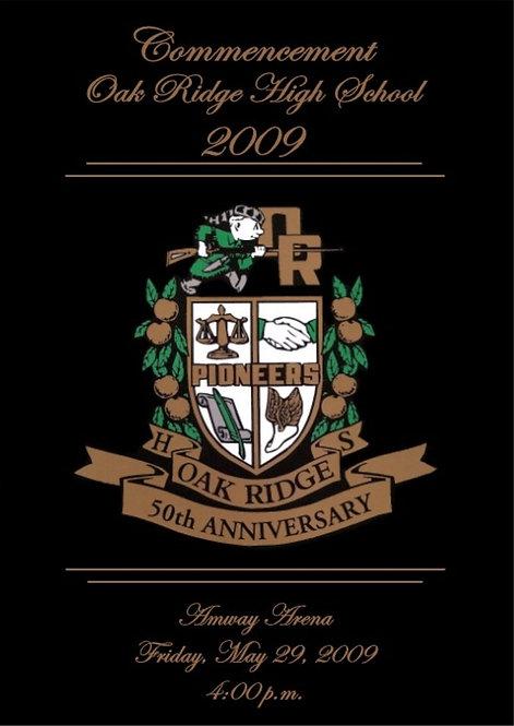 Oak Ridge High School 2009 Graduation
