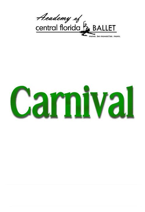Central Florida Ballet - Carnival - 2003