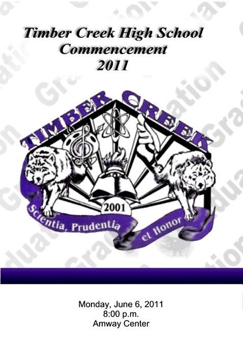 Timber Creek High School 2011 Graduation