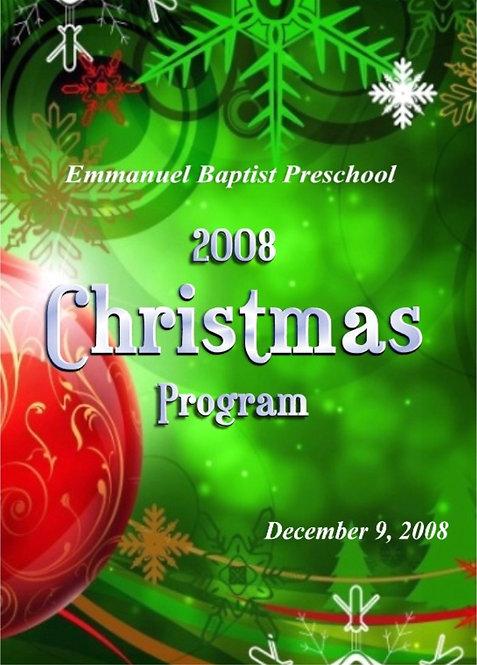 Emmanuel Child Care - 12/2008