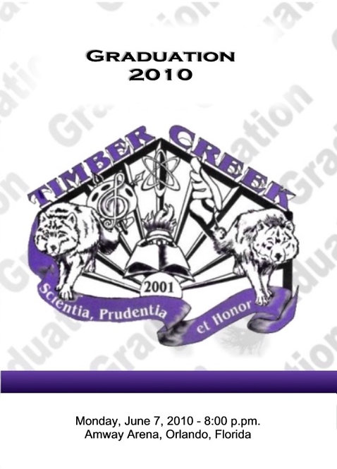 Timber Creek High School 2010 Graduation